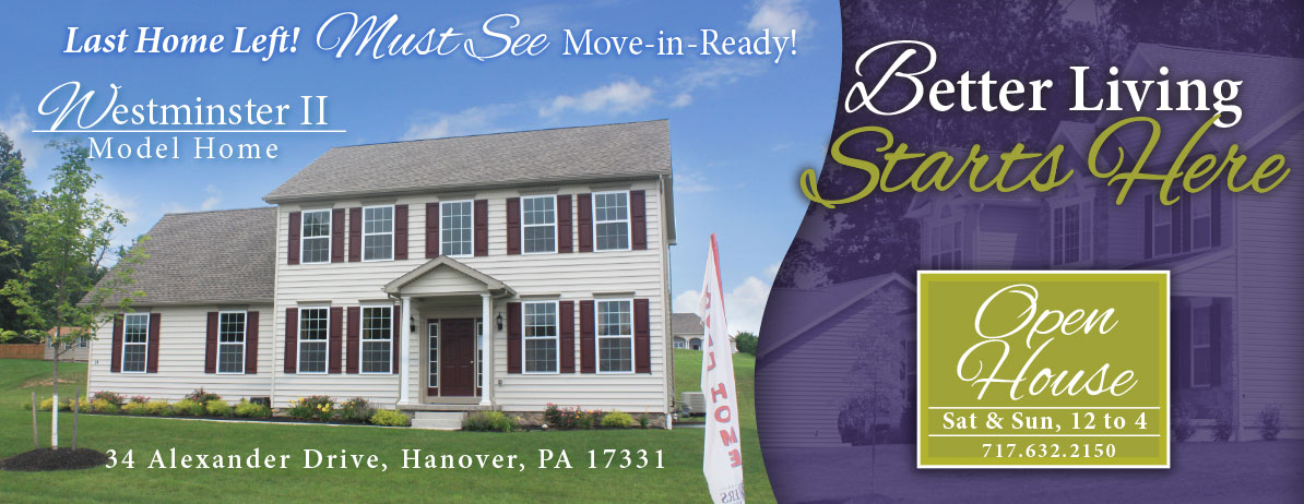 Westminster II at High Pointe North - 34 Alexander Drive, Hanover, PA 17331