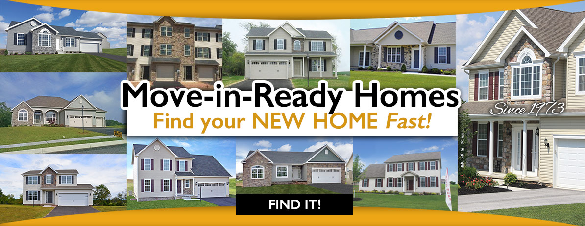 Move-in-Ready Homes! Move in Fast!